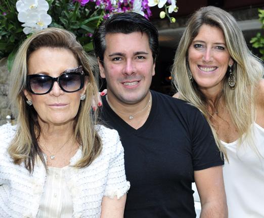 Fátima Martins, André Ramos e Alessandra Oliveira