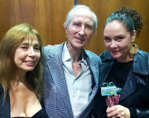 Guil Silveira, Rosario Boyer e Thais de Campos