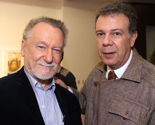 João Candido Portinari e Ricardo Camargo
