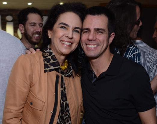 Joy Garrido e Luis Fernando Amorim
