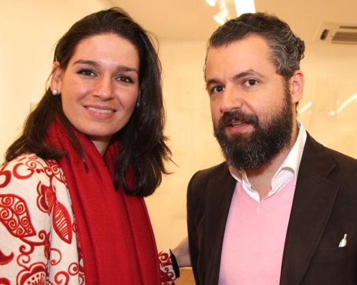 Juliana Engelbergn e João Correa