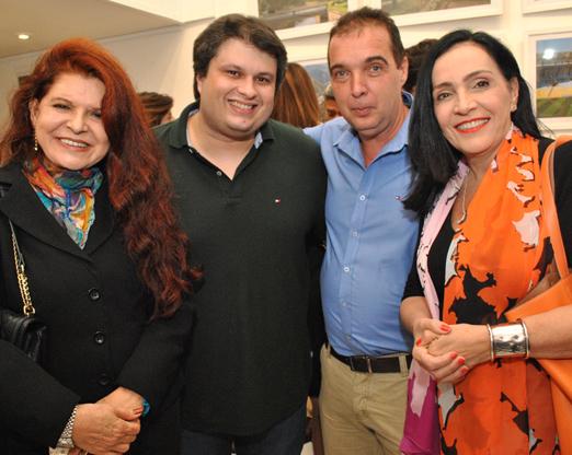 Leiloca Neves, Claudio André de Castro, Bayard Boiteux e Liliana Rodriguez