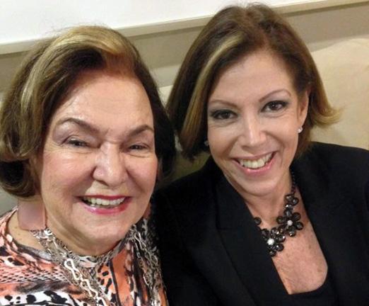 Lucy Sá Peixoto e Sylvia de Castro