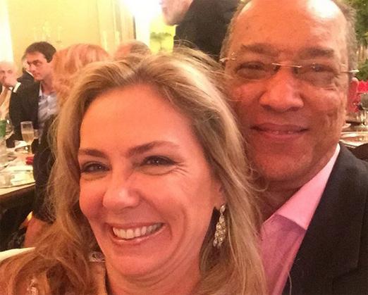 Márcia Veríssimo e Amaro Leandro Barbosa