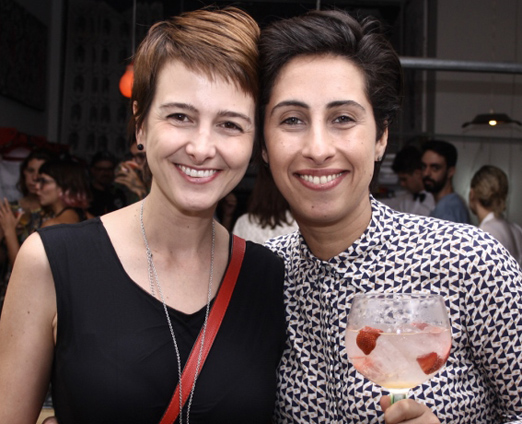Marina Chevrand e Calu Tegnani
