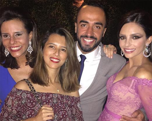 Narcisa, Tatiane, Yan e Carol