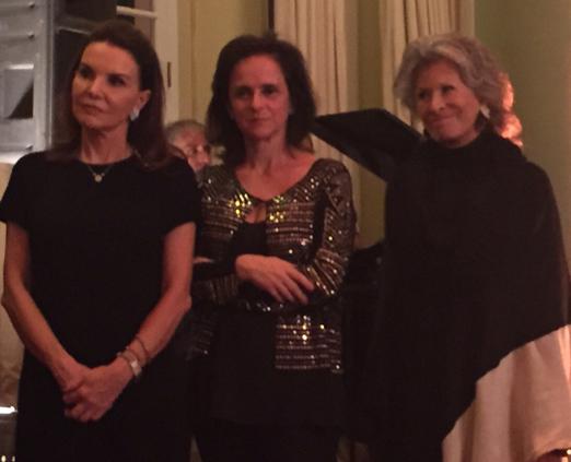 Patricia Mayer, Patricia Quentel e Gisella Amaral