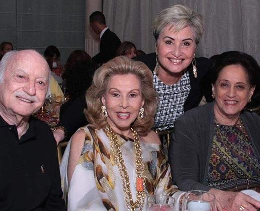 Paula com Jair, Marisa e Belita