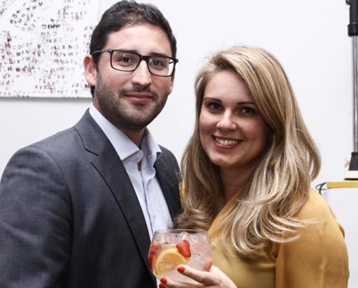 Paulo Massi e Ingrid Alfaya