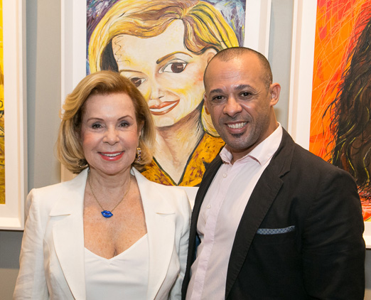 Rachel Gusmão e Silvio Borges