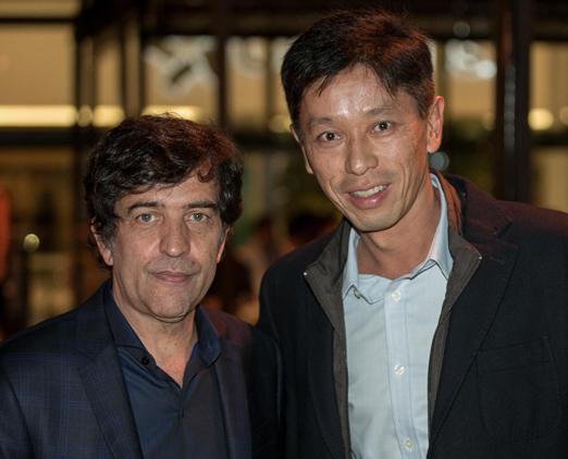 Ricardo Alemida e Carlos Kaidei