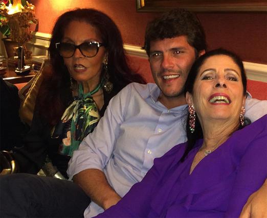 Tania Caldas, Tuta Marcondes Ferraz e a aniversariante
