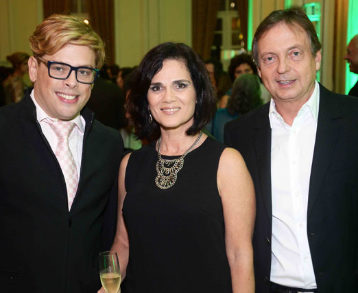 Bruno Chateaubriand, Gilda Antoniazzi e Francisco Grabowski