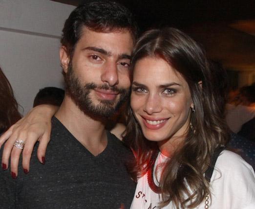 Bruno Waisman e Janna Palma