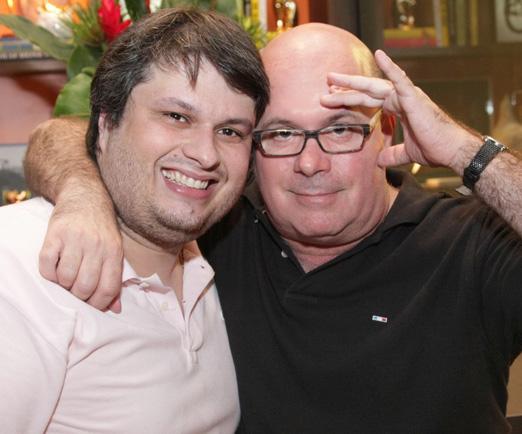 Claudio André e Eder Meneghine