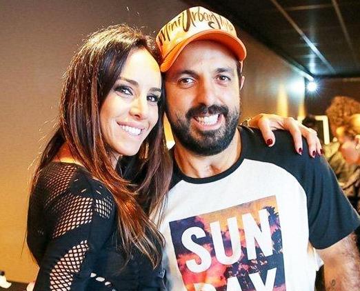 Luciana Arcangeli e Tico Sahyoun