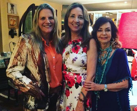 Maninha, Sumaya e Vera