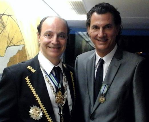 Mauro de Lima Camara e Julio Agra