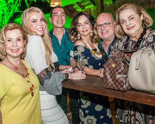 Rachel Gusmão, Maria Claudia Coutinho, Hugo Oliveira, Vera Loyola, Eder Meneghine e Cristina Aboim