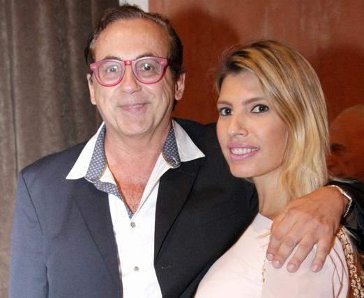 Ricardo Rique e Eliane Tabbakh