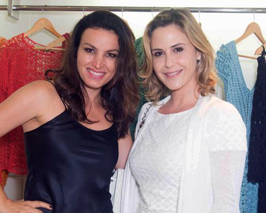 Alzira Vieira e Guilhermina Guinle