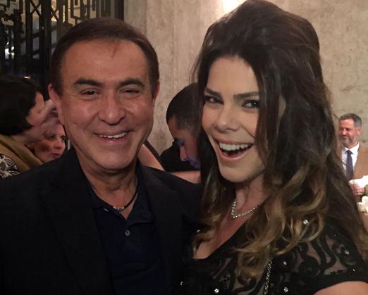 Amaury Jr e Gisele Fraga
