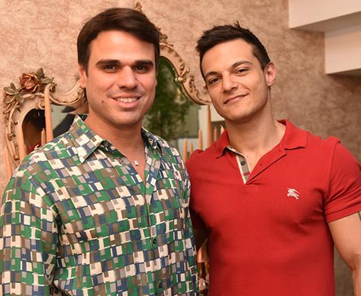 Beto Pacheco e Renam Christofoletti