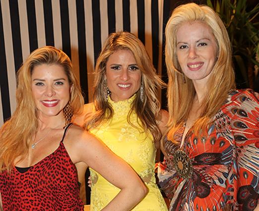 Bianca Marques, Ana Paula Barbosa e Giovanna Priolli