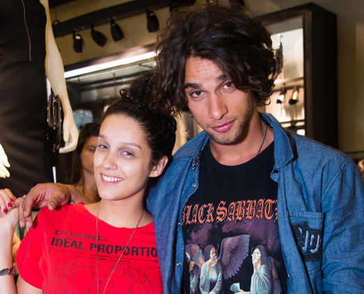Bruna Oliveira e Pablo Morais