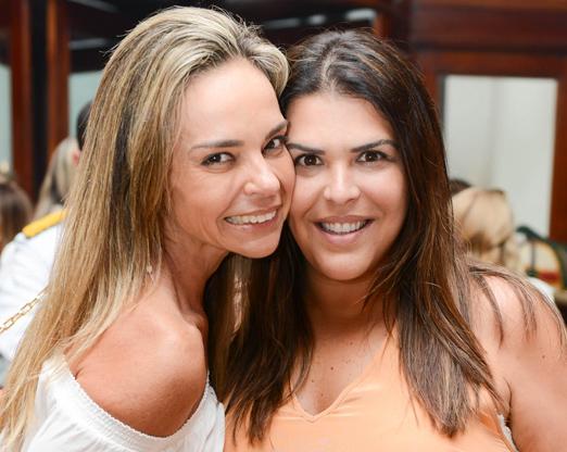 Carol Rajão e Dani Monteiro
