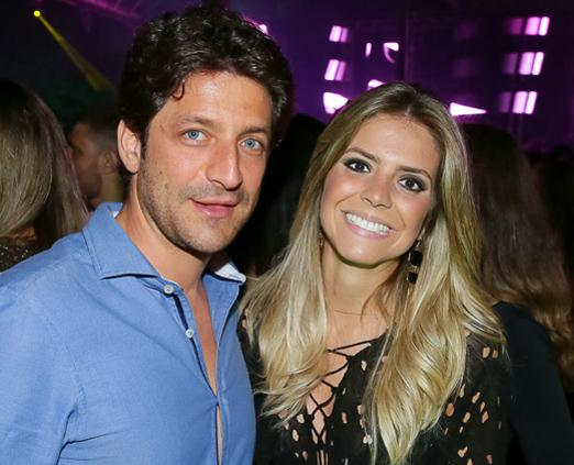 Cristiano Nahas e Laura Butarello