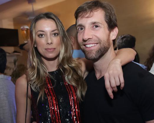 Fabiola Cabral e Alexandre Klabin