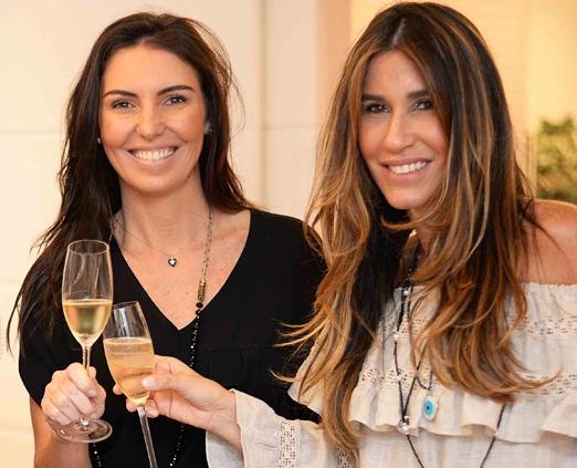 Glenda Koslowski e Carla Lima