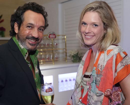 Irajá Carneiro e Julia Monteiro de Carvalho