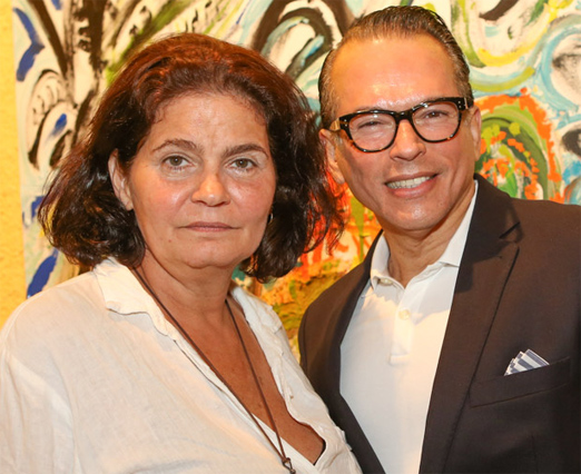 Izabella Figueiredo e Heckel Verri