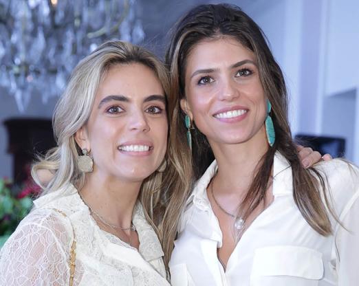 Joanna Lowndes e Nayla Carvalho