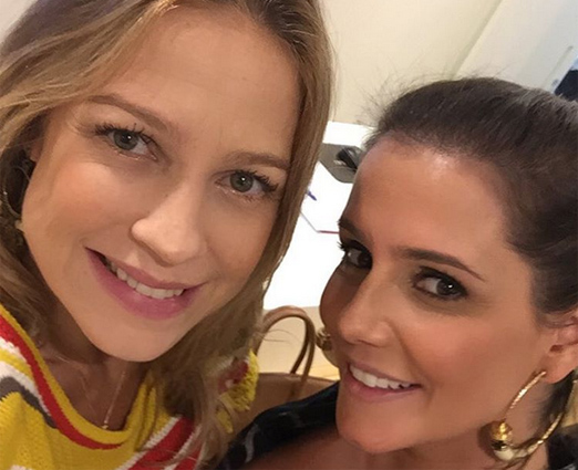 Luana Piovani e Deborah Secco
