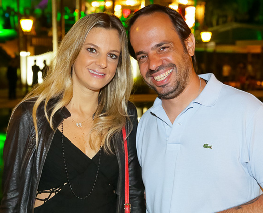 Lucila Cafaro e Felipe Aversa