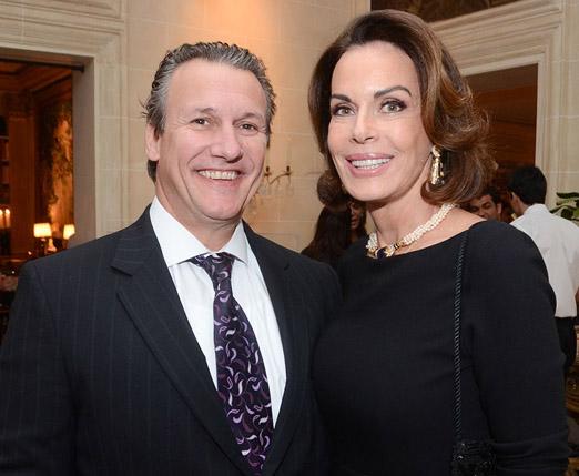 Marcelo Palhares e Renata Scarpa