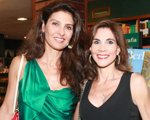 Maria Pia Marcondes Ferraz e Fatima Tostes
