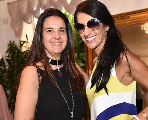 Maria Wang e Patricia Gaioto
