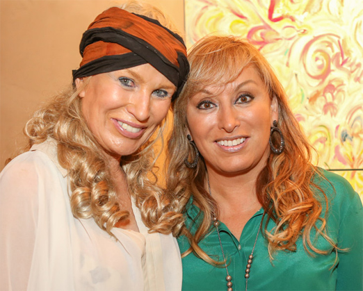 Marie Annick Mercier e Cinthia Coca