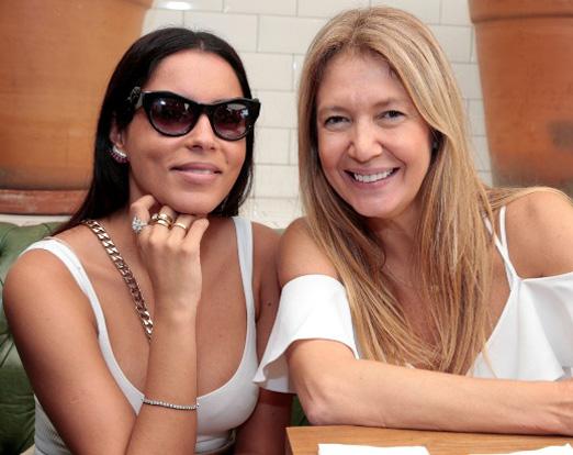 Marina Morena e Donata Meirelles