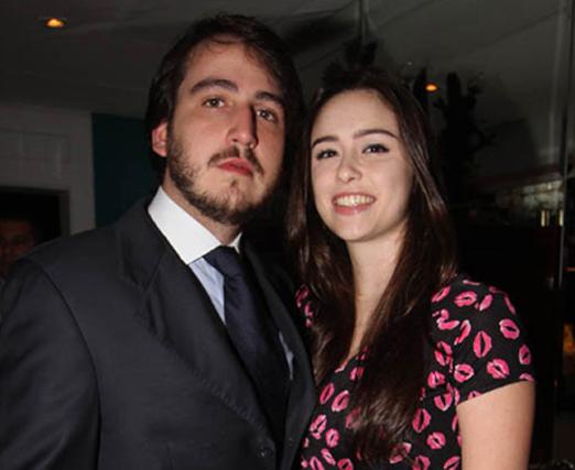 Nestor Rocha Filho e Fernanda Lanat