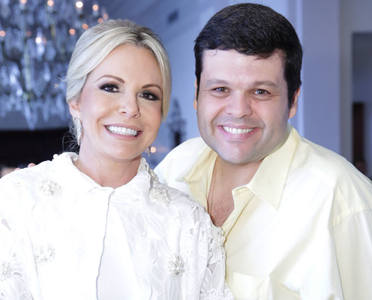 Nina Kauffmann e Carlos Lamoglia
