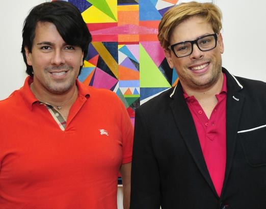 Os queridos André Ramos e Bruno Chateaubriand