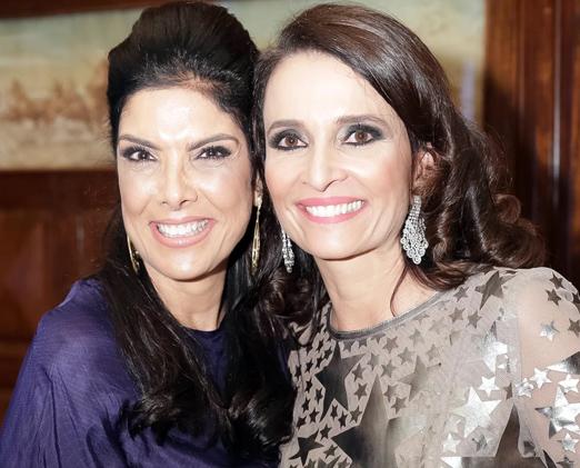 Patricia Brandão e Andrea Natal