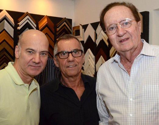 Ricardo Magalhães, Umberto França e André Luiz Mendonça