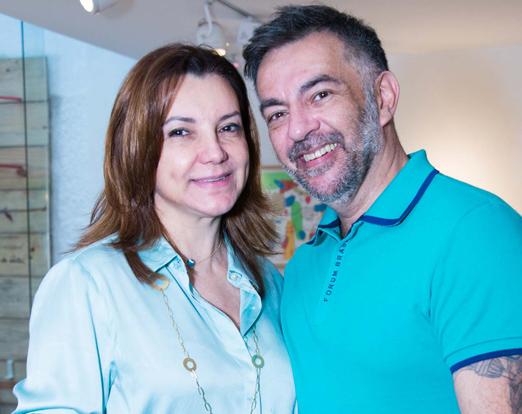Rosa Tavares e Domingos Savio