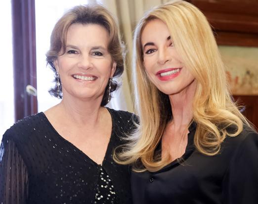 Sonia Joppert e Aparecida Marinho
